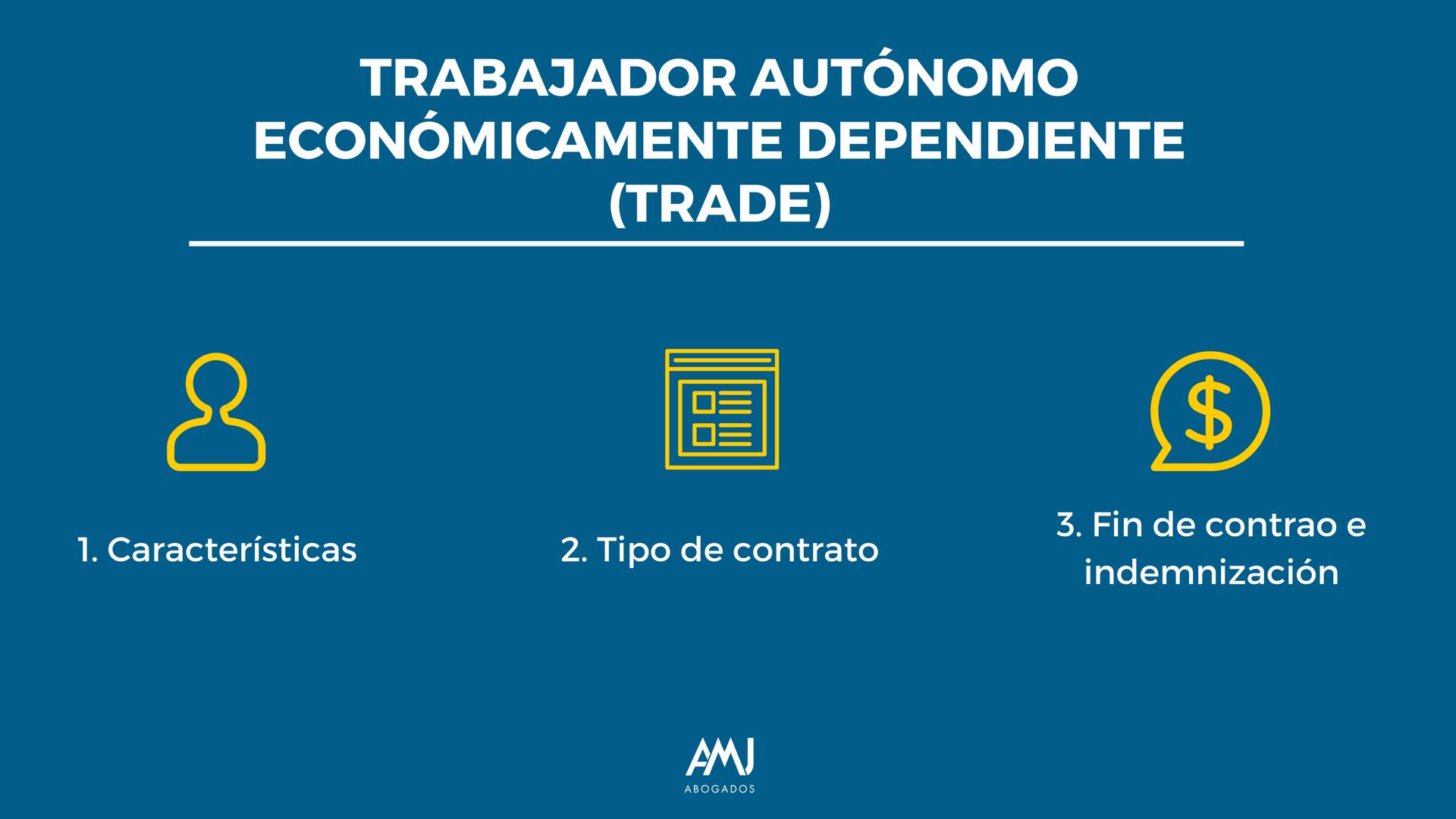 Trabajador autónomo económicamente dependiente (TRADE)