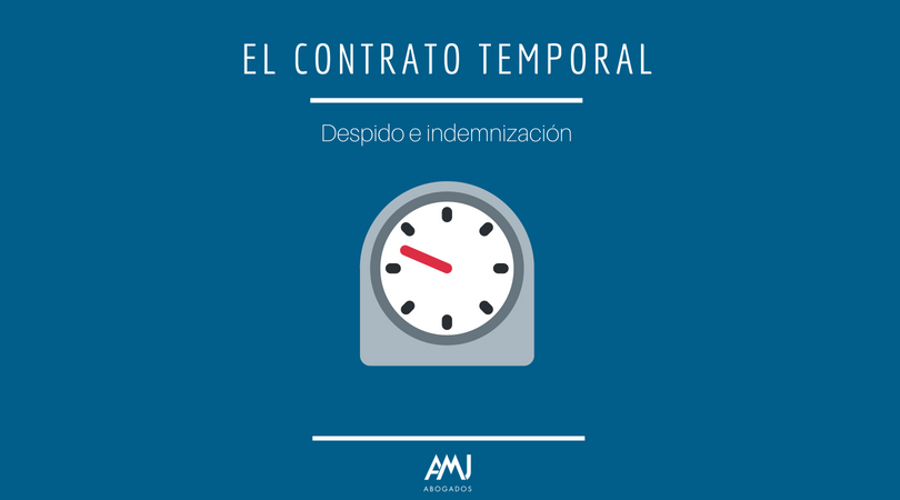 Contrato temporal: despido e indemnizaciones